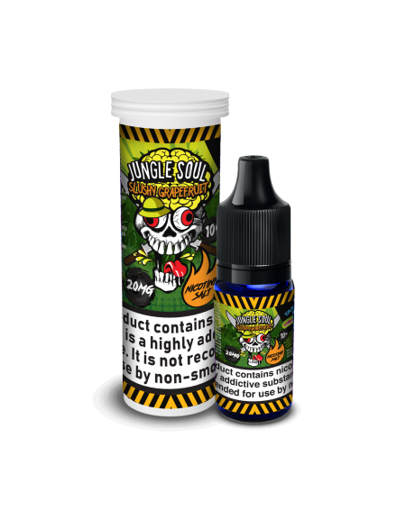 Buy Chill Pill Salt Jungle Soul - Slushy Grapefruit!