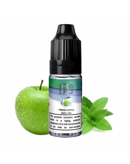 Buy BOSS SALT FRESH APPLE| RoyalSmoke.co.uk