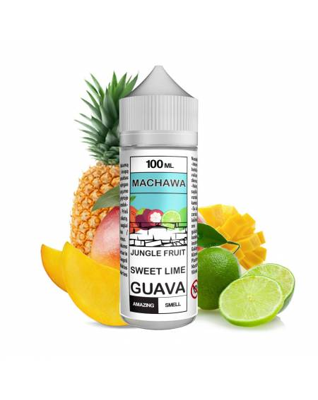 Buy MACHAWA JUNGLE FRUIT SWEET LIME GUAVA| RoyalSmoke.co.uk