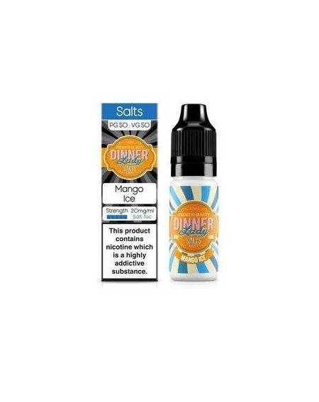 Buy DINNER LADY SALTS MANGO ICE| RoyalSmoke.co.uk
