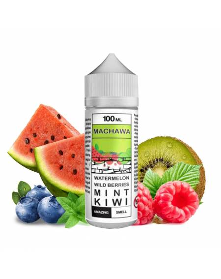 Buy MACHAWA WATERMELON WILD BERRIES MINT KIWI| RoyalSmoke.co.uk