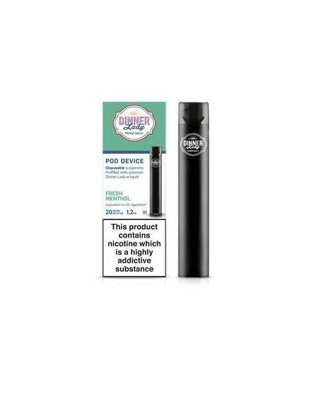 Buy Disposable electronic cigarette Dinner Lady|