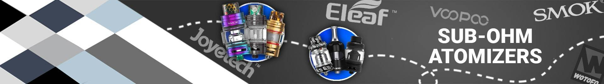Sub-ohm atomizers  | Royalsmoke.co.uk